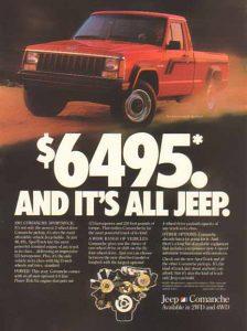 Comanche Price