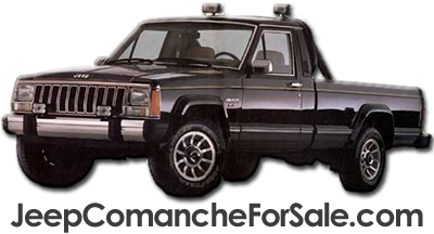 Jeep Comanche For Sale Logo