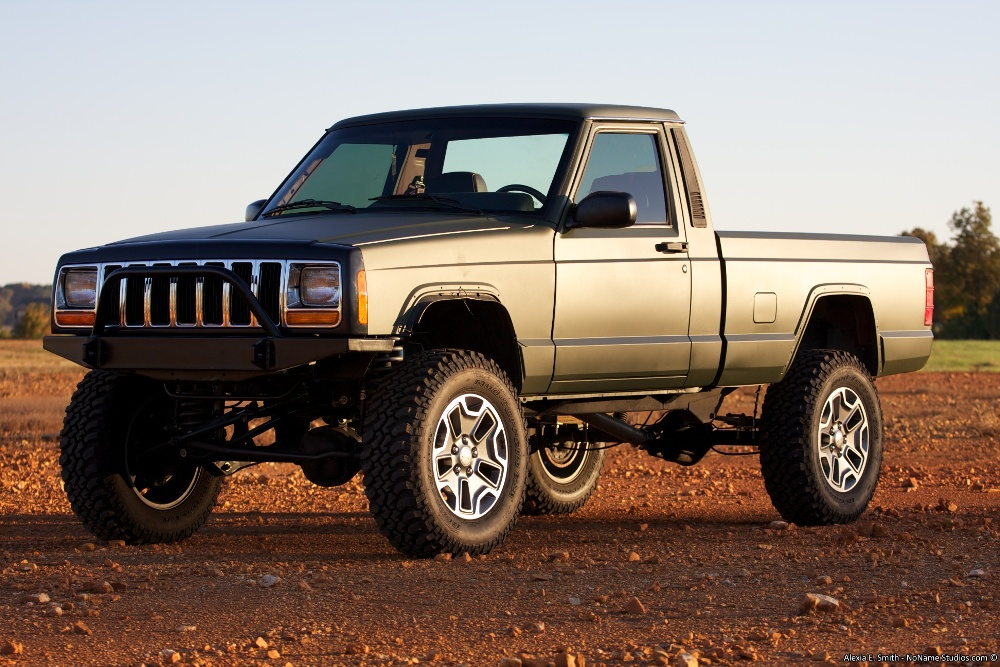 Lifted Comanche Trucks